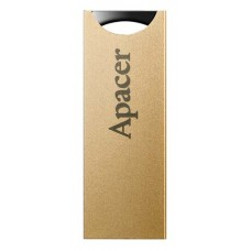 APACER USB Flash Drive AH133, USB 2.0, 16GB, Gold
